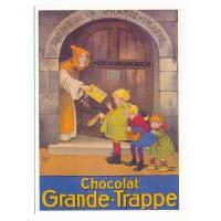 Carte chocolat grande trappe - Centenaire Editions