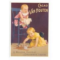 Carte chocolat Van Houtten à consommer liquide - Centenaire Editions