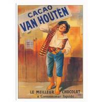 Carte chocolat Van Houtten le meilleur chocolat - claude aubert editeur