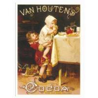 Carte chocolat Van Houtten cacao - Centenaire Editions