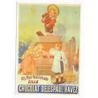 Carte Chocolat Delespaul-Havez - Editions Clouet