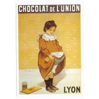 Carte Postale 10x15 Chocolat de l'union Lyon - Centenaire Editions