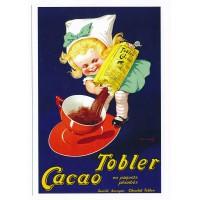 Carte Postale 10x15 Tobler Cacao en paquets plombés - Editions Clouet