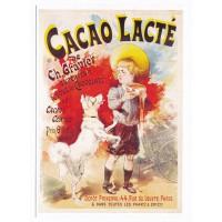 Carte Postale 10x15 Chocolat Cacao Lacté - Editions Clouet