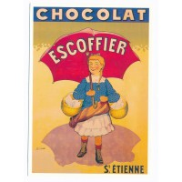 Carte Postale 10x15 Chocolat Escoffier - Centenaire Editions