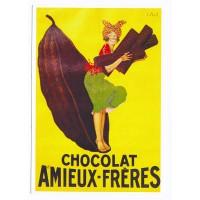 Carte Postale 10x15 Chocolat Amieux-Frères - Editions Clouet