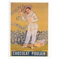 Carte Postale 10x15 Chocolat Poulain - Centenaire Editions