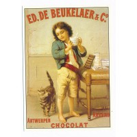 Carte Postale 10x15 Chocolat Ed.de Beukelaer & cie - Centenaire Editions