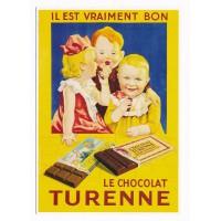 Carte Postale 10x15 le chocolat Turenne - Editions Clouet