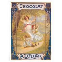 Carte Postale 10x15 chocolat Kohler - Centenaire Editions