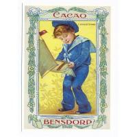 Carte Postale 10x15 cacao Bensdorp - Centenaire Editions