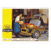 Carte Tri Peugeot 125 cm - Centenaire Editions