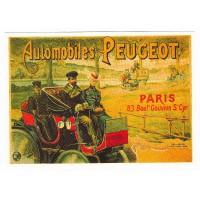 Carte automobiles Peugeot - Centenaire Editions