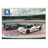 Carte 905 et 908 Peugeot - Centenaire Editions