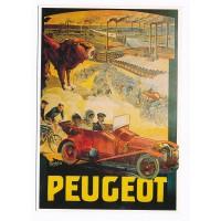 Carte Peugeot Tamagno - Editions Clouet