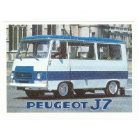 Carte Peugeot J7 - Centenaire Editions