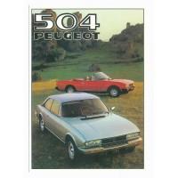 Carte Peugeot 504 - Centenaire Editions
