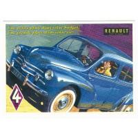 Carte Renault 4CV 1958 - Centenaire Editions