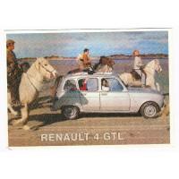 Carte Renault 4 GTL - Centenaire Editions