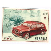 Carte Postale 10x15 Renault Prairie colorale taxi - Centenaire Editions