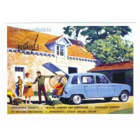 Carte Postale 10x15 Renault 4 - Opie collection