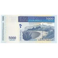 Billet Neuf Madagascar 5.000 Ariary 2003