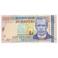 Billet Neuf Malawi 500 Kwacha - 2005