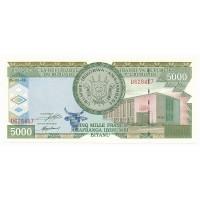 Billet Neuf Burundi 5.000 Francs - 1999