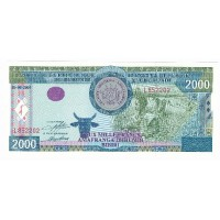 Billet Neuf Burundi 2.000 Francs - 2001
