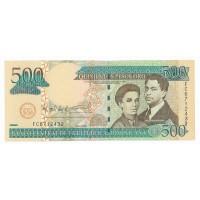 Billet Neuf République Dominicaine 500 Pesos - 2006