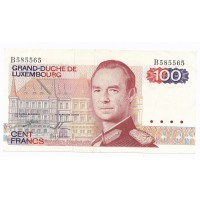 Billet Luxembourg 100 Francs - 1980