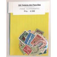 Lot de 100 Timbres des Pays Bas PT033