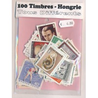 Lot de 100 Timbres Hongrie PT041