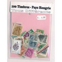Lot de 100 Timbres Hongrie PT042