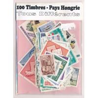 Lot de 100 Timbres Hongrie PT040