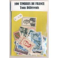 Lot de 100 Timbres de France PT045