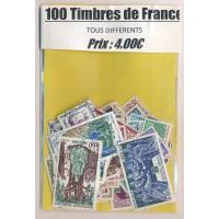 Lot de 100 Timbres de France PT011