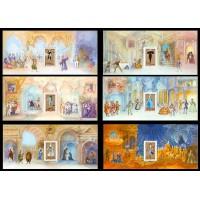 Blocs Souvenirs numéro 7 à 12 Les Opéras de Mozart
