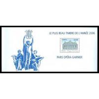 Bloc Souvenir numéro 24 L'opéra Garnier
