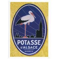 Carte Postale 10x15 Potasse d'Alsace - Centenaire Editions