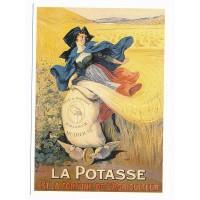 Carte Postale 10x15 La Potasse est la fortune de l'agriculteur - Centenaire Editions