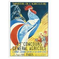 Carte Postale 10x15 63 ème concours général agricole - Centenaire Editions