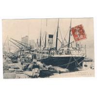 CPA - (33) - Bordeaux sur les quais navires en déchargement