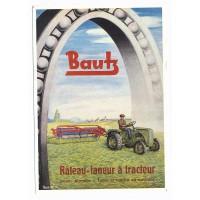 Carte Postale 10x15 Rateau Banz et tracteur - Centenaire Editions