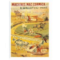 Carte Postale 10x15 Machine McCormick - Centenaire Editions