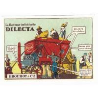 Carte Postale 10x15 Batteuse individuelle Dilecta - Centenaire Editions