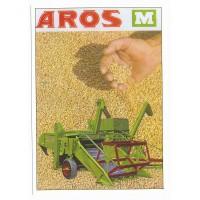 Carte Postale 10x15 Moissonneuse batteuse AROS M - Centenaire Editions