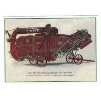 Carte Postale 10x15 Case Moissonneuse batteuse - Centenaire Editions
