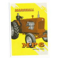 Carte Postale 10x15 Marshall Tracteur MP6 - Centenaire Editions