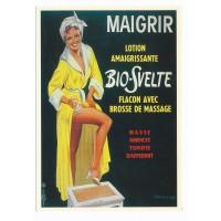 Carte Postale 10x15 Bio-Svelte Lotion Amaigrissante - Editions F.Nugeron